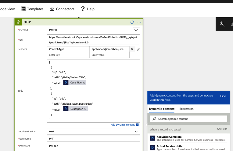 Integration with Microsoft Dynamics 365 using Azure Logic