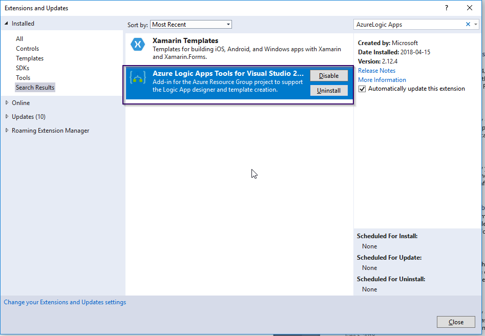 Working with Logic Apps from Visual Studio - Microsoft