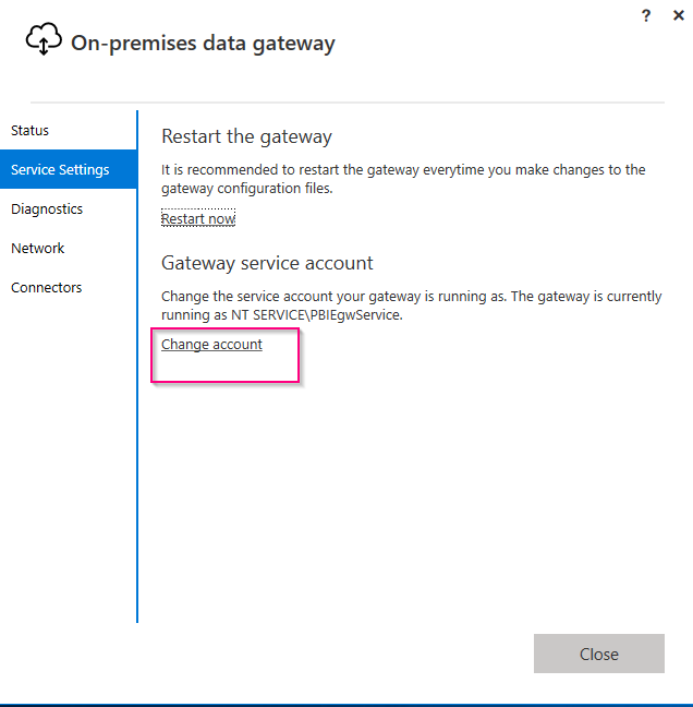 Monitoring Microsoft On-Premise Data Gateway