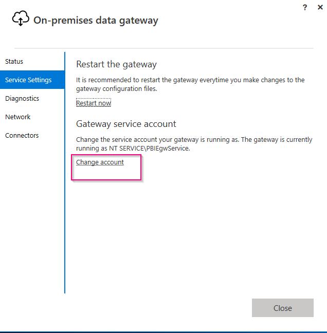 Monitoring Microsoft On-Premise Data Gateway