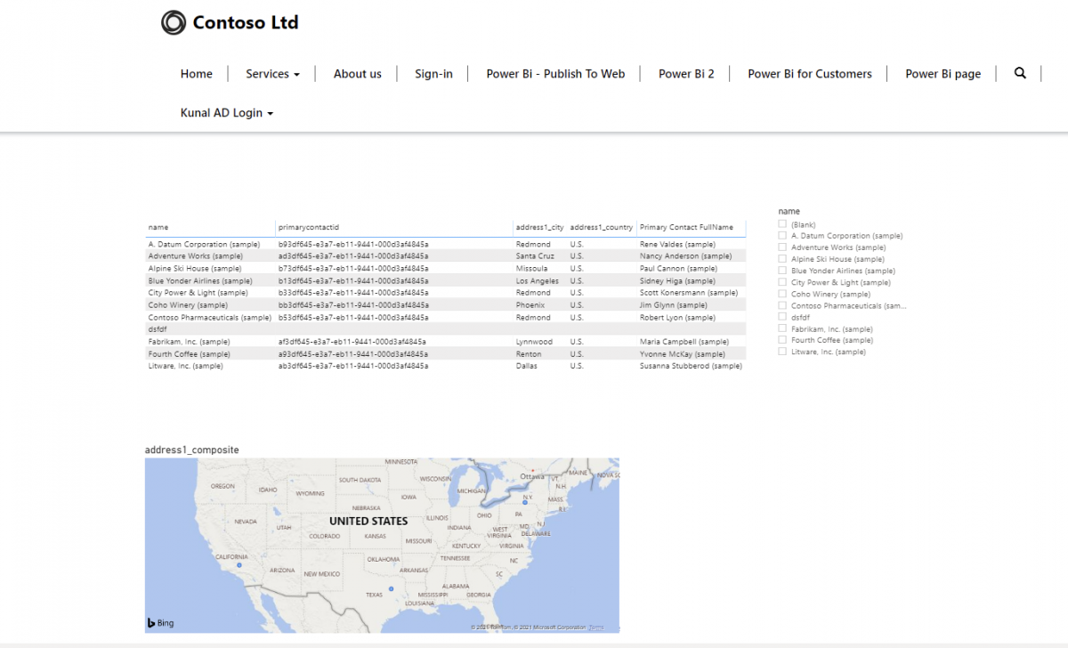 Bring your Power Bi to Power Apps Portal – Part I