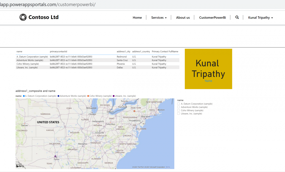 Bring your Power Bi to Power Apps Portal – Part II